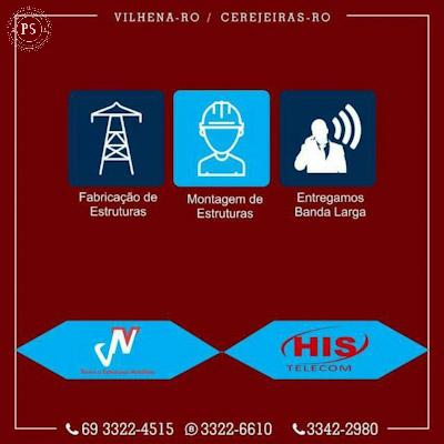 His Telecom Cerejeiras RO
